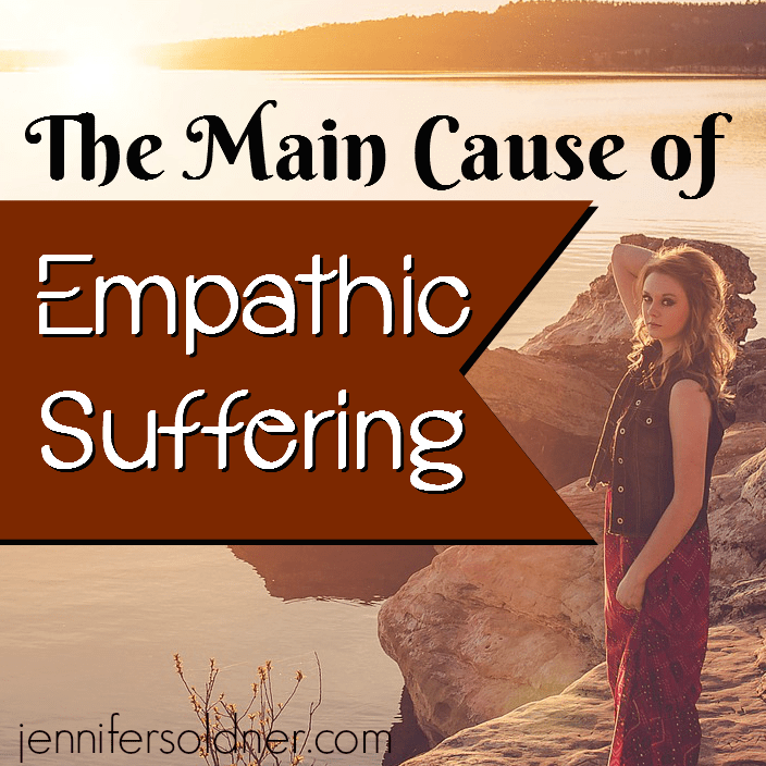 The Main Cause of Empathic Suffering