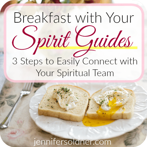 Breakfast with Your Spirit Guides