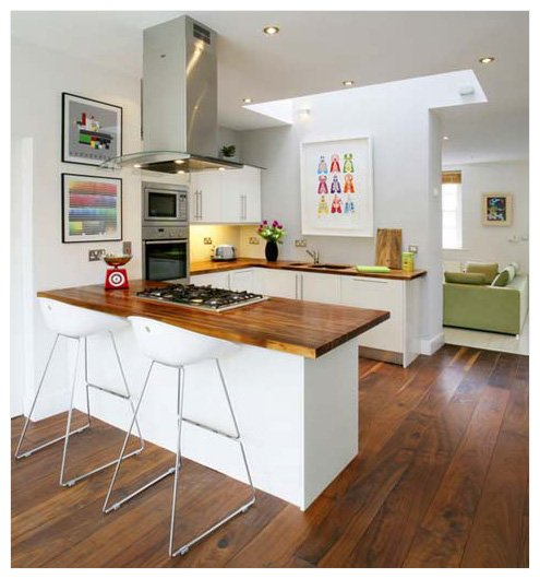 kitchen art work floor marble hanging pictures in a jennifer squires productions add colour to neutral room