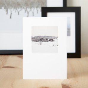 Frosty Fields - Christmas Greeting Cards