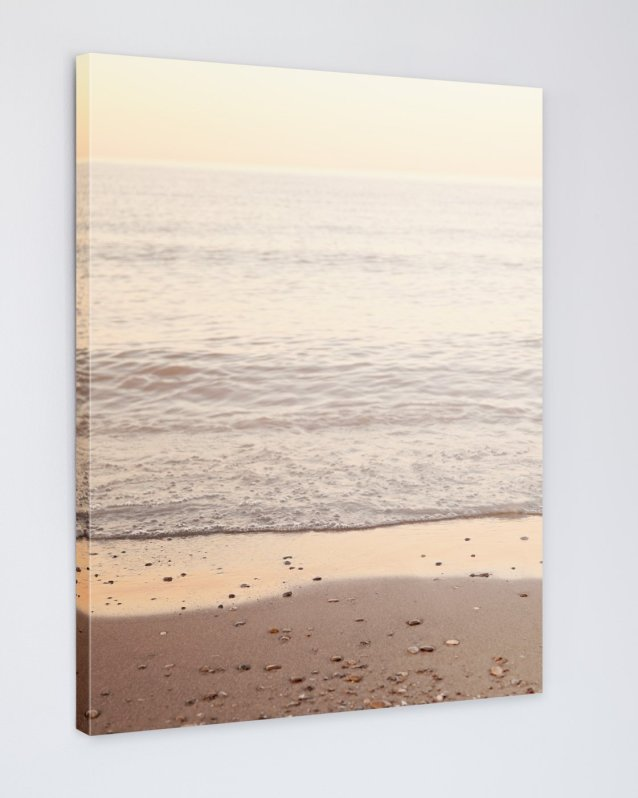 Golden Beach - Coastal Art