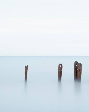 Minimalist Art Beach Photography - Lake Erie #8