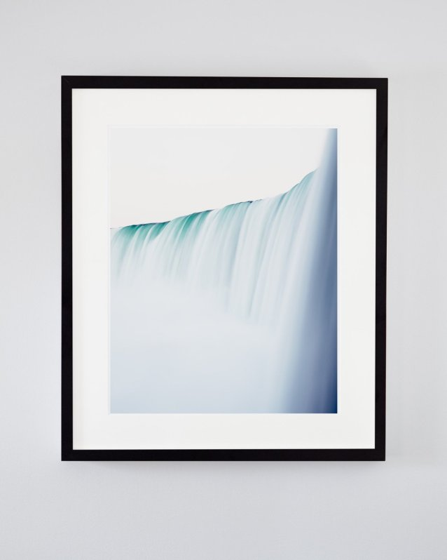 Niagara Falls Art Print - Minimalist Waterfall Photography