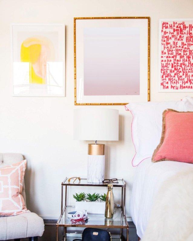 Pastel Beach Art Prints in Bedroom - Lake Erie #15