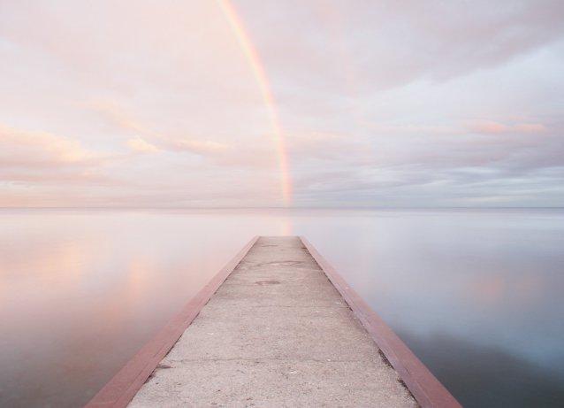 Lake Ontario #3 - Rainbow Art