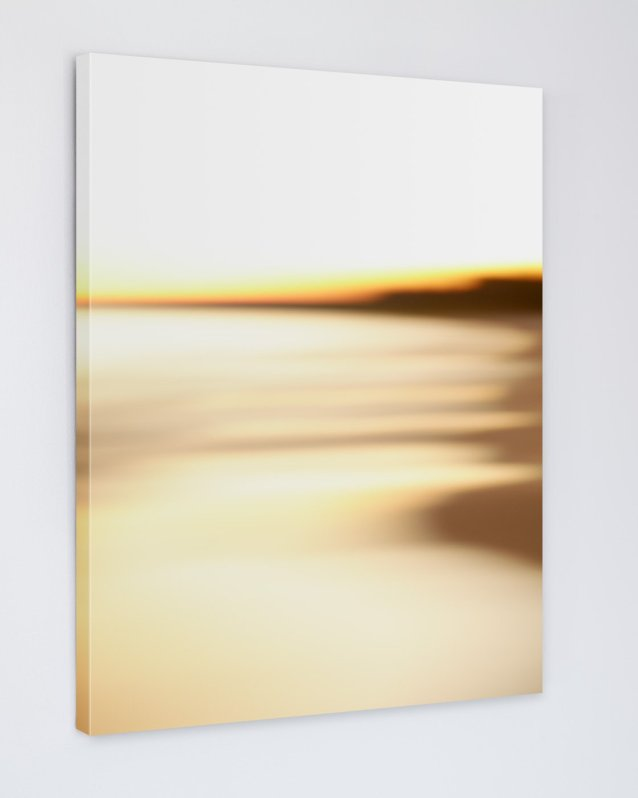 Abstract Beach Art - Steamy - Canvas