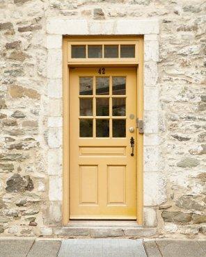 Yellow Door Decor - Anna's Writing Room