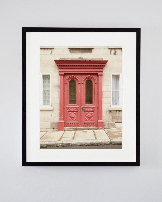 Maison Maya - Door Picture - Old Quebec City Art