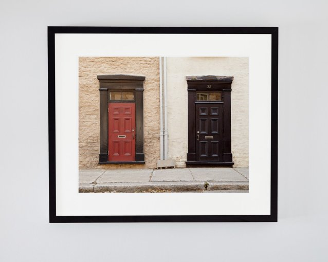 French Wall Art - Alice and Evan - Door Art