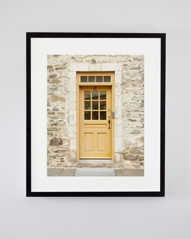 Yellow Door Decor - Anna's Writing Room - Old Quebec City