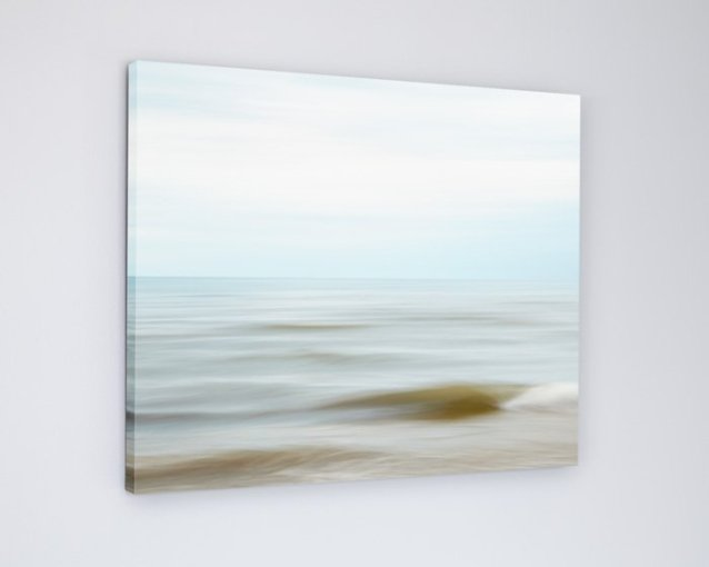 Coastal Wall Art Canvas - Sandy
