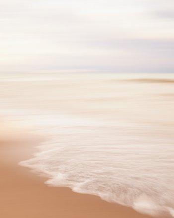 Beautiful Beach Photo - Take On The World - Seascape Photograph