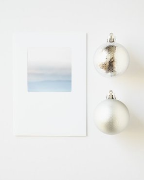 Minimalist Holiday Cards - In The Clouds