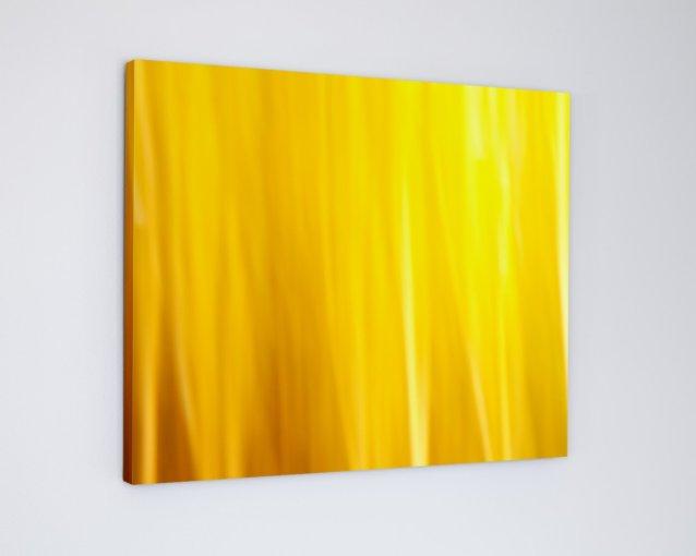 Yellow Wall Art Decor Canvas - Curtain Call