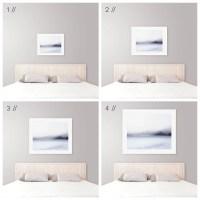 Ideal Art Size Above King Bed - Modern Coastal Bedroom ...