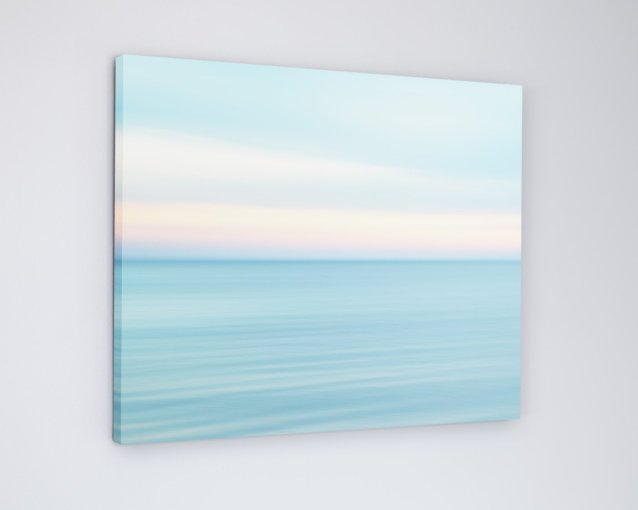 Beach Sunset Canvas Picture - Carmen's Coastal Road Trip