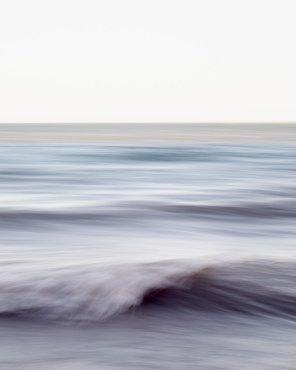 Ocean Wall Art - Chantal Strolls Along the Shore