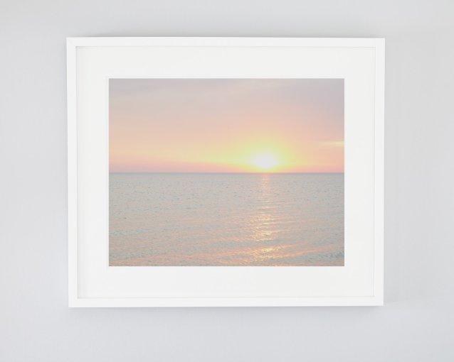 Tropical Beach Sunset Photo - Jenna's Journey - Coastal Home Decor