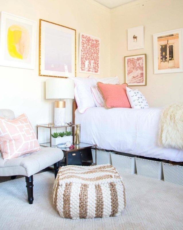 Blush Bedroom Wall Art