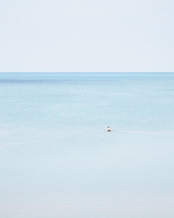 Woman Swimming, Pinery - Coastal Fine Art Print