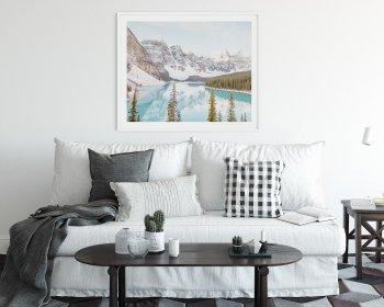 Breathtaking Silence - Moraine Lake Wall Art Photograph