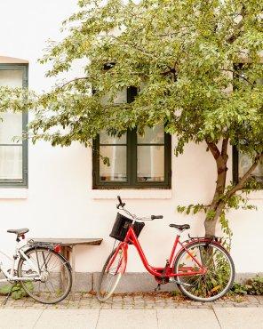 Carefree Copenhagen - Copenhagen Bike Art Print