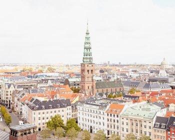 Copenhagen Skyline Photograph - Travel Print by Jennifer Squires