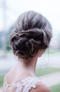 bridal updo - back 1