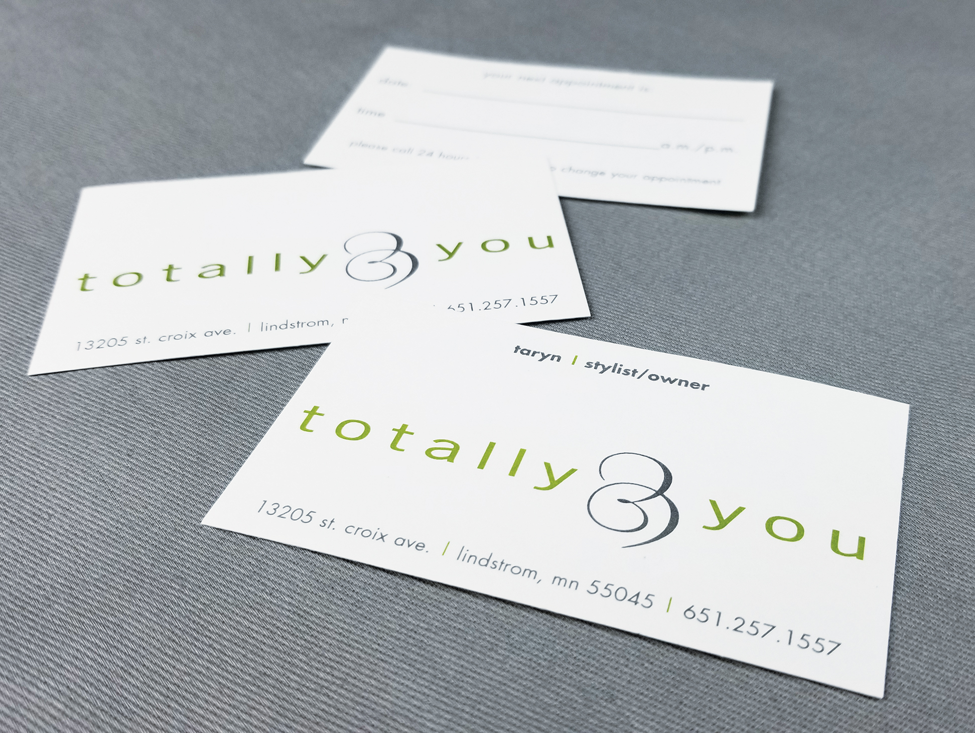 Totally You Business Cards