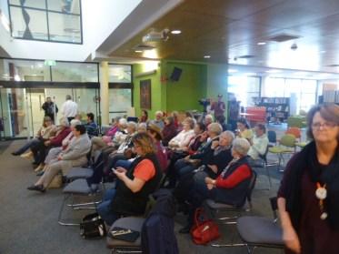 Tamworth crowd