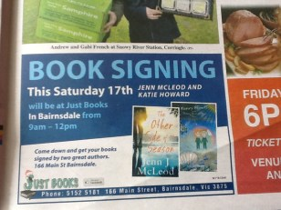Book signing - Bairnsdale