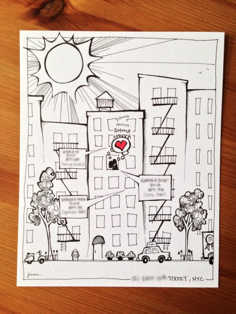 Sunny Day, NY | jennMac Illustration