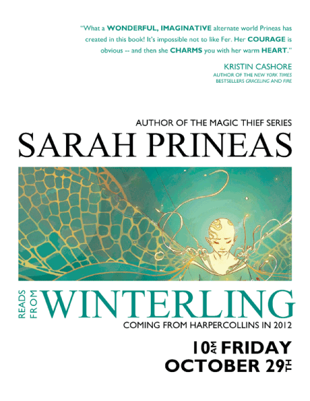 Sarah Prineas reads from Winterling
