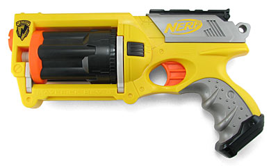 NERF Maverick au natural.