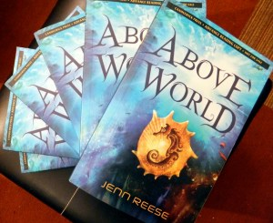 ARCs of my book, Above World