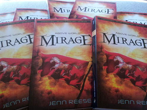 Advanced Reader Copies of MIRAGE by Jenn Reese
