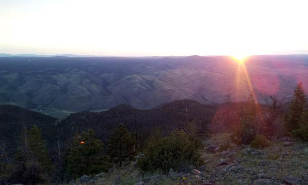 Sunset at WIRO