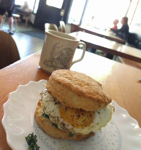 Maplewood and their thyme biscuits, omg.
