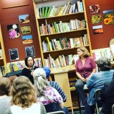 Malinda Lo and Kate Elliott come to town, and I loved every minute I got to spend with them.