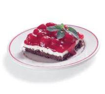 Chocolate Crumb Cherry Cheesecake