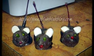 Cute Chocolate Covered Cherry Mice Recipe