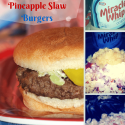 Perfect 4th of July Recipe: MIRACLE WHIP SLAW BURGERS