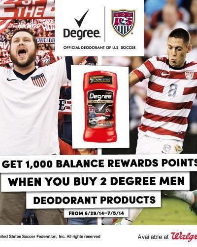 Score With Walgreens Degree World Cup