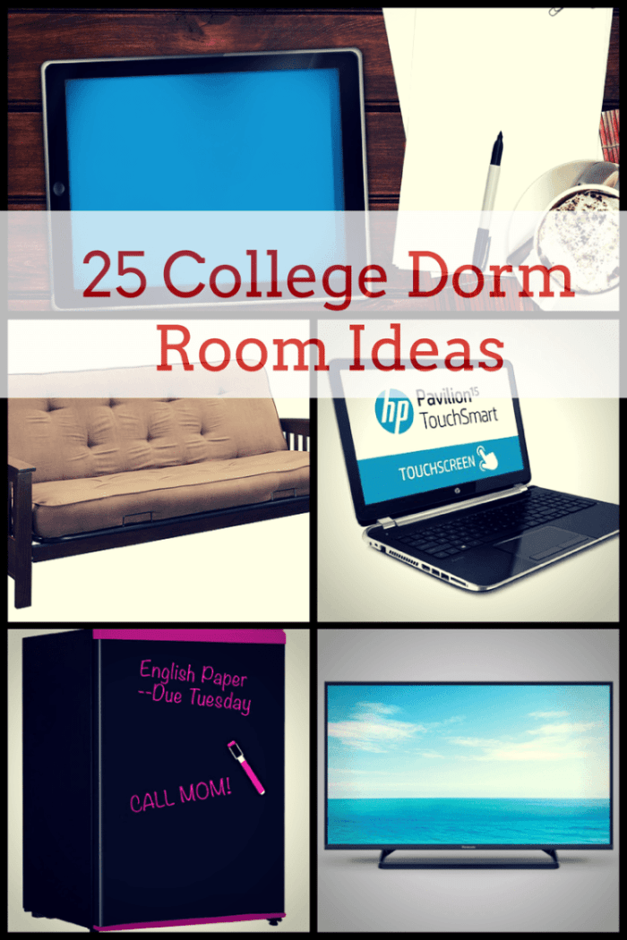 25 College Dorm Room Ideas