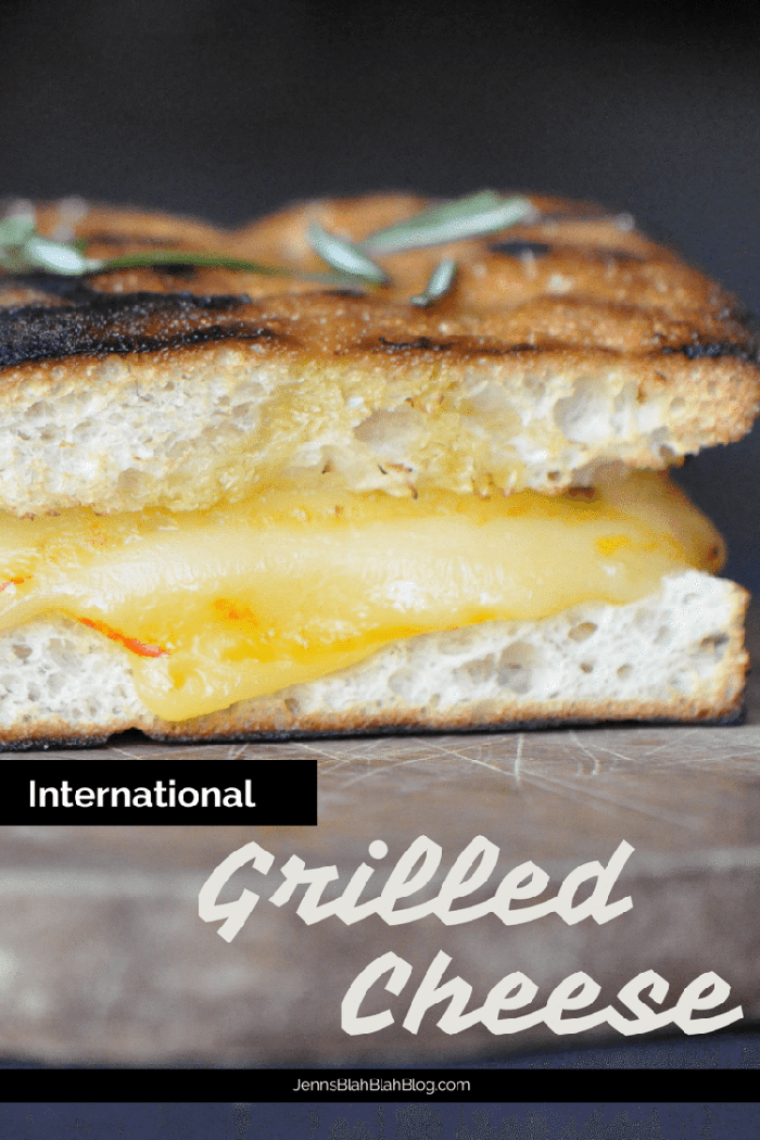 International Grilled Cheese Recipe