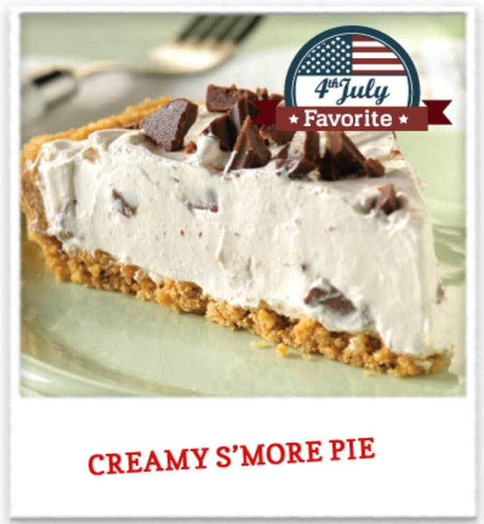 creamy s'more pie
