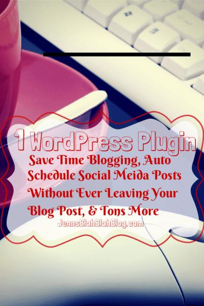 WordPress Plugins: Save Time Blogging, Schedule Social Media Posts