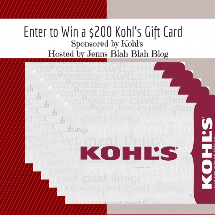 Enter to Win a $200 Kohl's Gift (1)