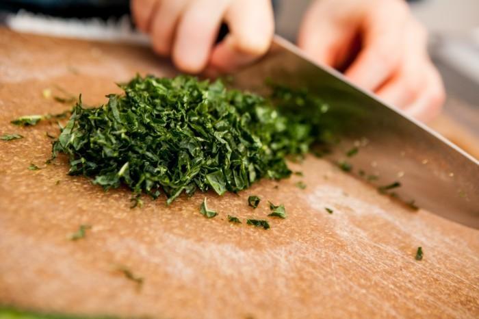 Shredded Kale Salad with Date Puree & Pine Nuts Salad Recipe