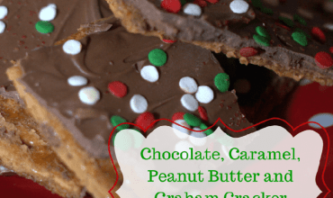 Chocolate, Caramel, Peanut Butter and Graham Cracker Toffee